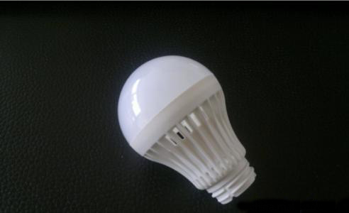 Power Saving LED Plastic Injection Light Bulb Parts Shatterproof Mould