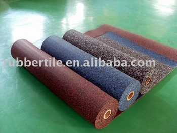 rubber flooring roll