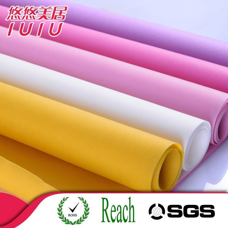 Different pattern design colorful waterproof pp non woven fabric for shopping bags/table cloth/decorations