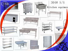 inox hardware supplier stainless steel dining table kitchen equipments for hospital with best prices