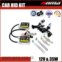 50w and 100w h4 car hid driving xenon light with 35w 23000v ballast kit