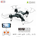 best mini drone 2018 951W 2.4G 4CH wifi control quadcopter with camera