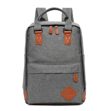 Simple Design High Quality Lady Man Leisure Canvas Tote School Backpack