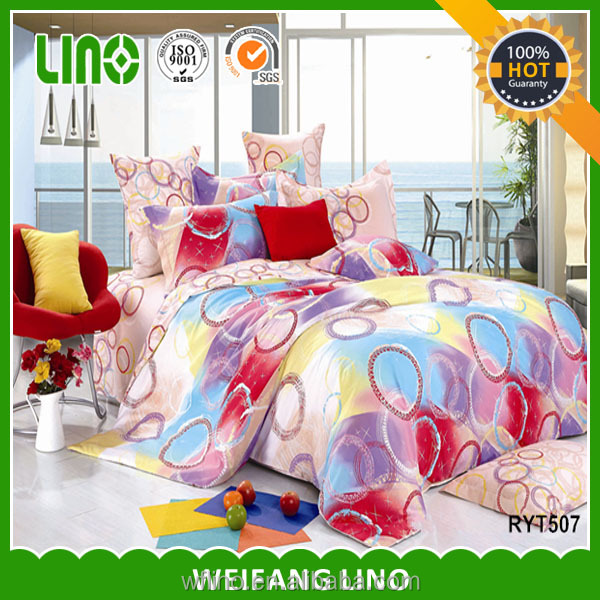 3D Polyester bamboo fiber duvet,single bed duvet cover/comforter manufacturer