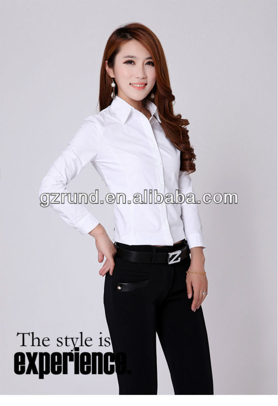 Women's formal shirt/formal shirt models/formal trendy shirts