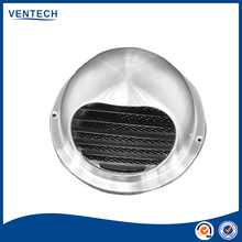 Hot sale Exhaust Air stainless steel ball weather louver Ventilation fresh air duct