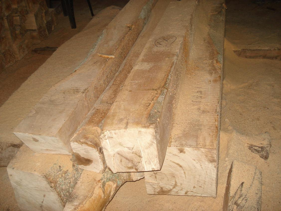 white hard wood