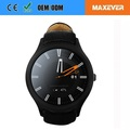 "1.3"" IPS Touch Screen Bluetooth WIFI GPS Heart Rate Monitor 3G Android Smart Watch Phone D5 PLUS"