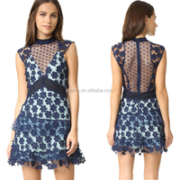 Fashion lady sexy lace one piece women dresses, stylish summer sexy ladies one piece xxxl size latest design peplum dress