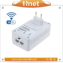 Hot-selling On Super September Purchasing 500mbps Wireless Homeplug Powerline Wifi PLC Adapter