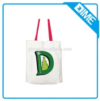 Wholesale High Quality Organic Cotton Tote Bag With Handled
