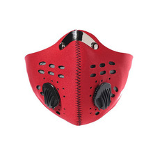 Comfortable durable reusable protective dust neoprene half mask for outdoor sport