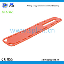 MRI transparent spine board stretcher