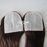 Wholesale hot sale natural straight remy brazilian hair human hair topper wig