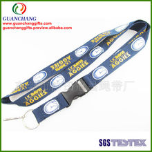 personalized polyester necklace lanyards
