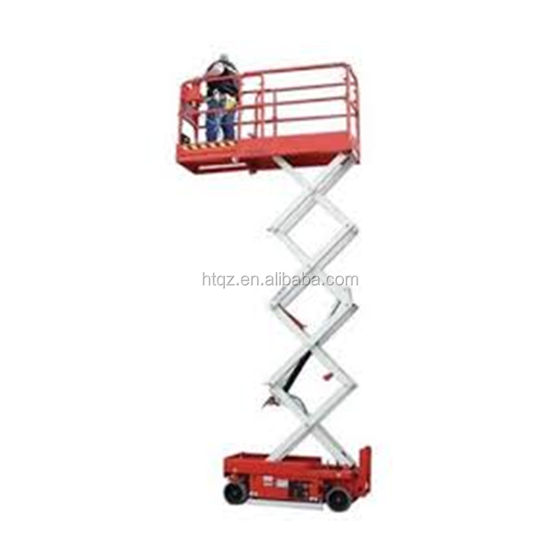 SJY series 4 wheels hydraulic movable lift platform,lift table