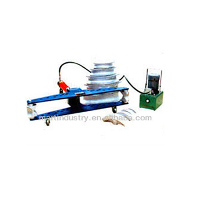 "DWG-4B 4"" Electric hydraulic pipe bender machine for pipe bending"