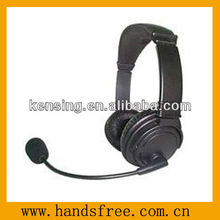 Headset volume controy for computer or game player