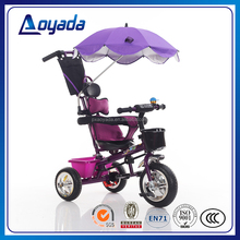 Hot sale multifunctional baby tricycle / riding toys child tricycle / push bar children trike