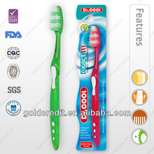 transparent handle adult Toothbrushes