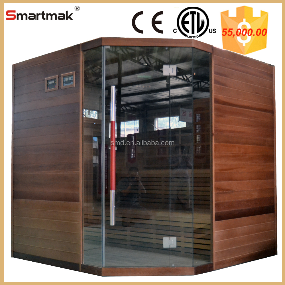 Factory Direct Far Infrared Sauna Shower Combination With CE ETL