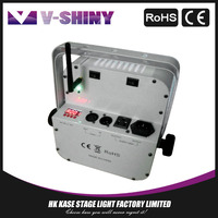 18W9 Stage battery powered wireless dmx led lights