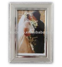 Silver Plated Embossed Iron Picture Frame