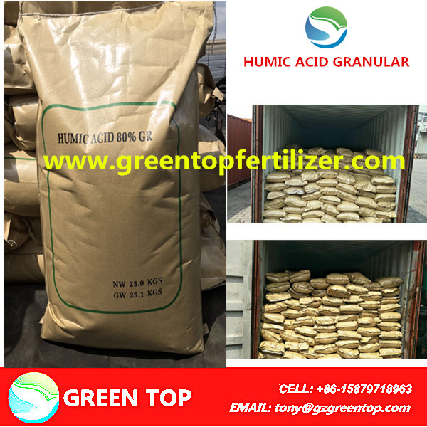 Humic Acid Fertilizer Potassium Humate Granular Price