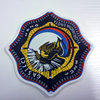 cheap custom woven patch personalized iron on embroidery patch for clothing