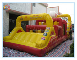 Factory price inflatable obstacle,giant inflatable obstacle course adult,cheap inflatable obstacle course for sale