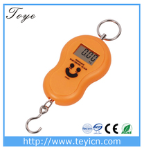 Fish Finder Transducer Round Sonar Sensor LCD Display with Electronic Hanging Digital Weighting Fishing Scale TY-S01