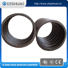 Cement lined chromium carbide anti wear steel pipe