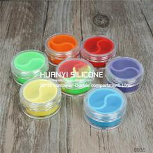 2015 new design large silicone container rectangle wax mate silicone oil container/silicone containers wax