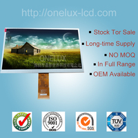 OEM 10.1 inch 1024*600 customized high brightness LCM TFT LCD screen can with touch panel for Automotive Electronics