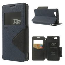 Fancy Diary Mobile Phone Ultra Thin Leather Case For Iphone 5 With Window