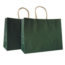 Factory direct kraft paper grocery bags wholesale