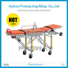 PWS-3B Used ambulance stretcher dimensions sizes, emergency stretcher