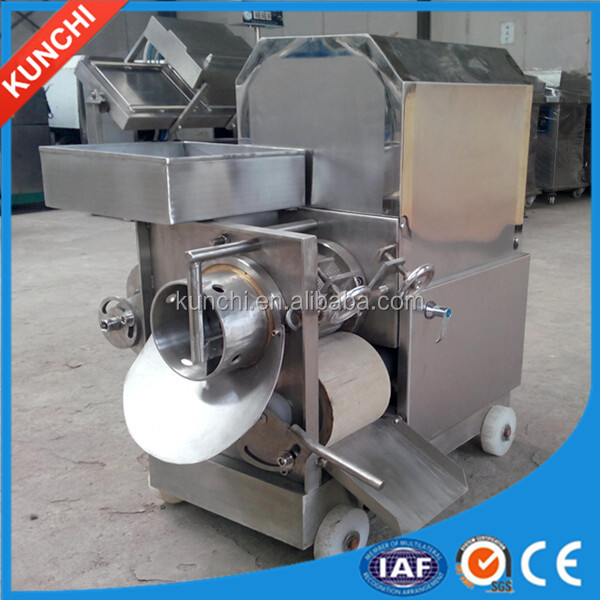 Professional stainless steel fish deboning machine / fish deboner with long warranty period! 20160811