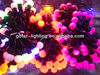 shiny christmas lights for christmas decoration santa claus