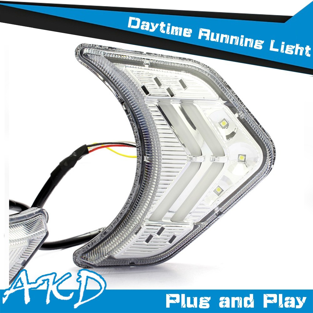 AKD Car Styling for Sorento DRL Sorento LED DRL Sorento LED Daytime Running Light Good Quality LED Fog lamp