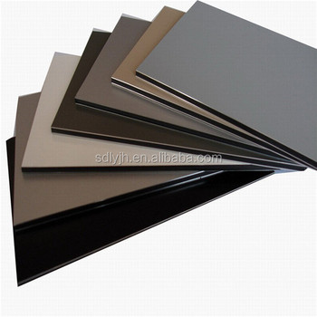 Standard Size Acp Sheets For Building Exterior Wall Cladding