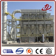 High dust collection rate cement baghouse