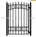 hot dipped galvanized and powder coated models of gates and iron fence