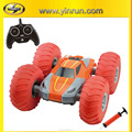 2.4 G Flip RC stunt car , cyclone rc car with Inflatable wheel