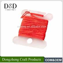 30pcs packed plastic thread bobbins spool for storage holder cross stitch embroidery floss sewing tools
