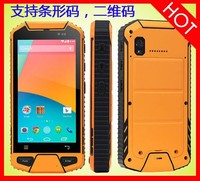 Dragon XL868 MTK6582 Quad Core Dual SIM Card rugged waterproof cell phone with 1D/2D Barcode Scanner