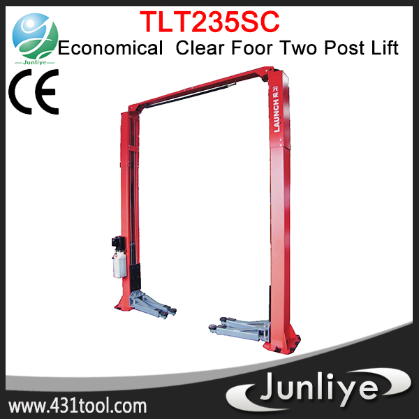 100% Original and durable LAUNCH TLT235SC tow post hydraulic pipe expander platform car lift
