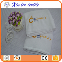 Wholesale hotel home towels plain woven embroidered cotton bath towel
