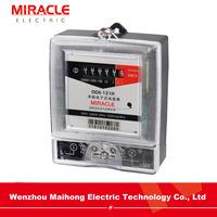 Single phase transparent electronic wattmeter meter electric
