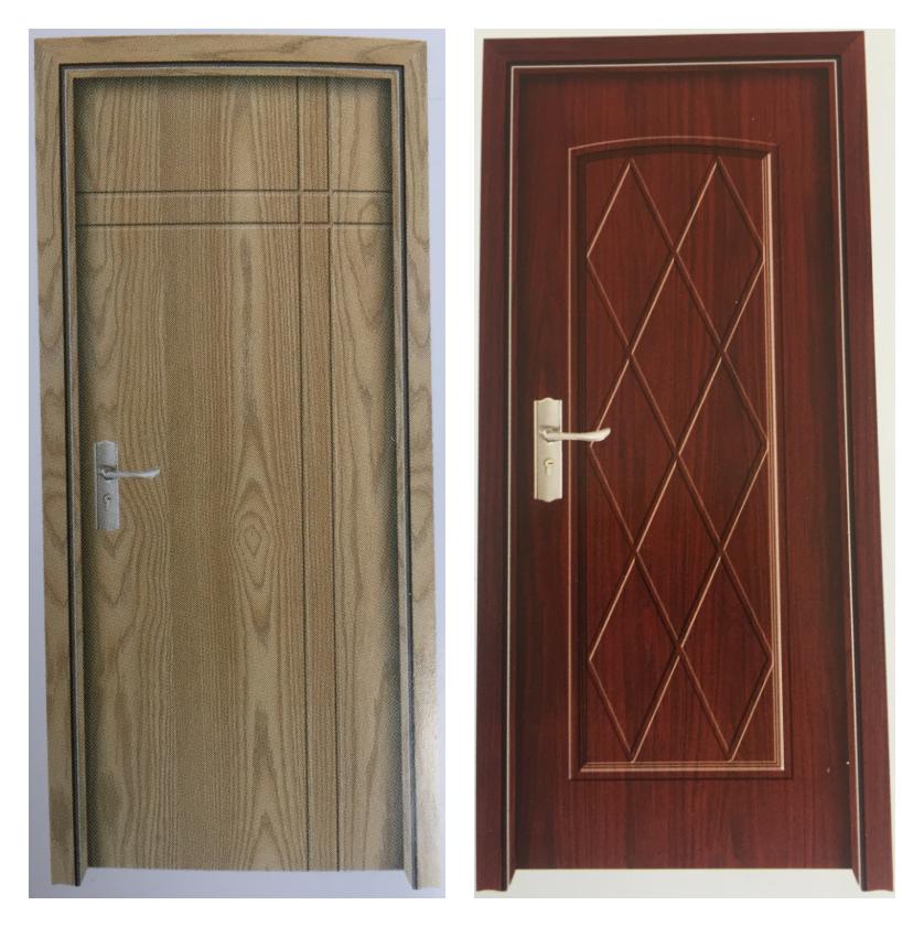 Popular wood flush mdf interior door buy door mdf door for Flush interior wood doors